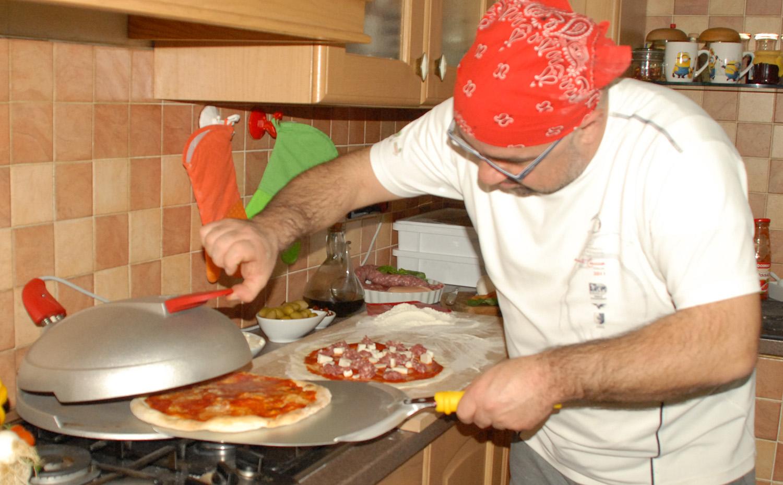 cuocere impasto pizza forno casa