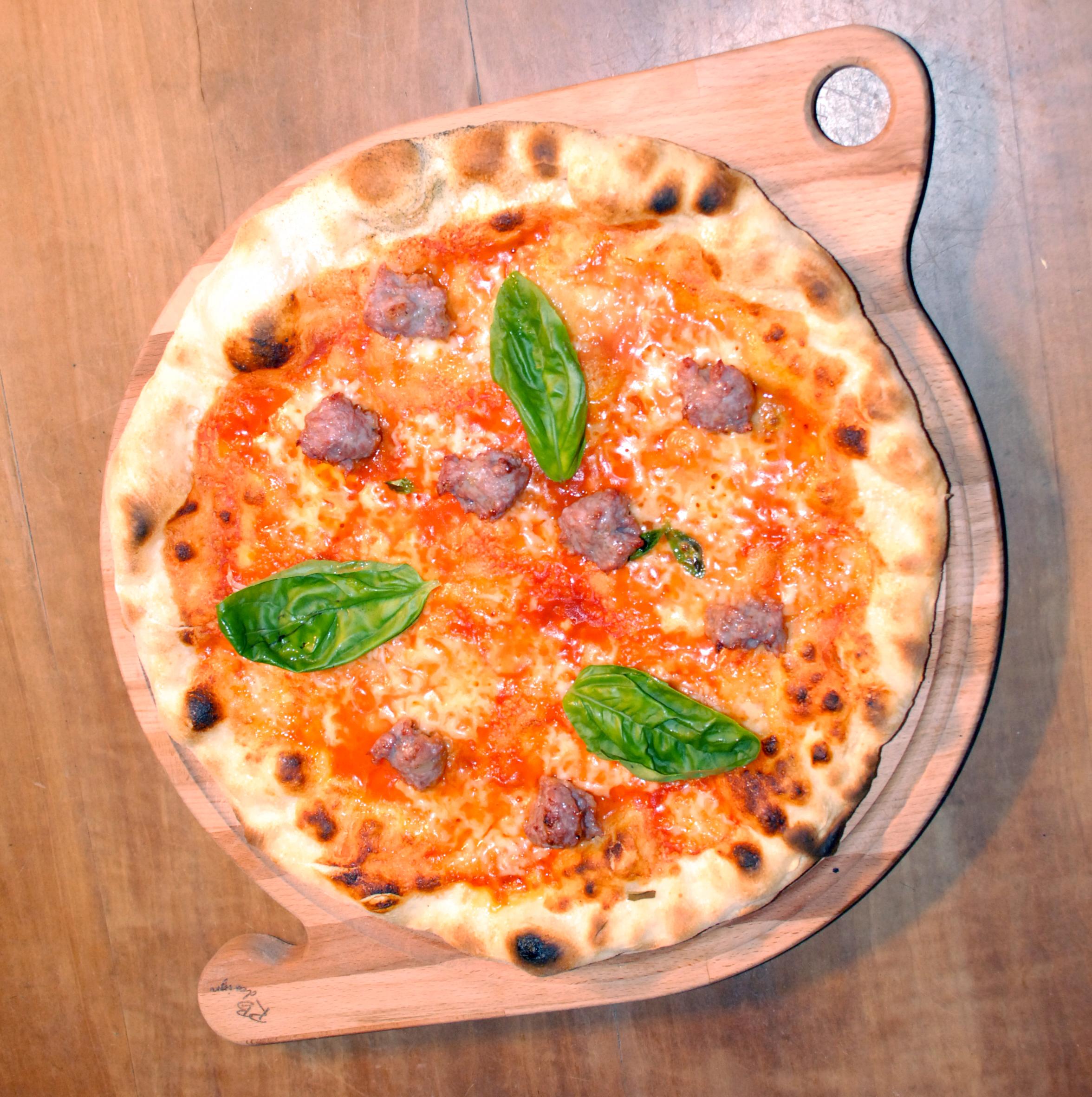 impasto pizza tonda