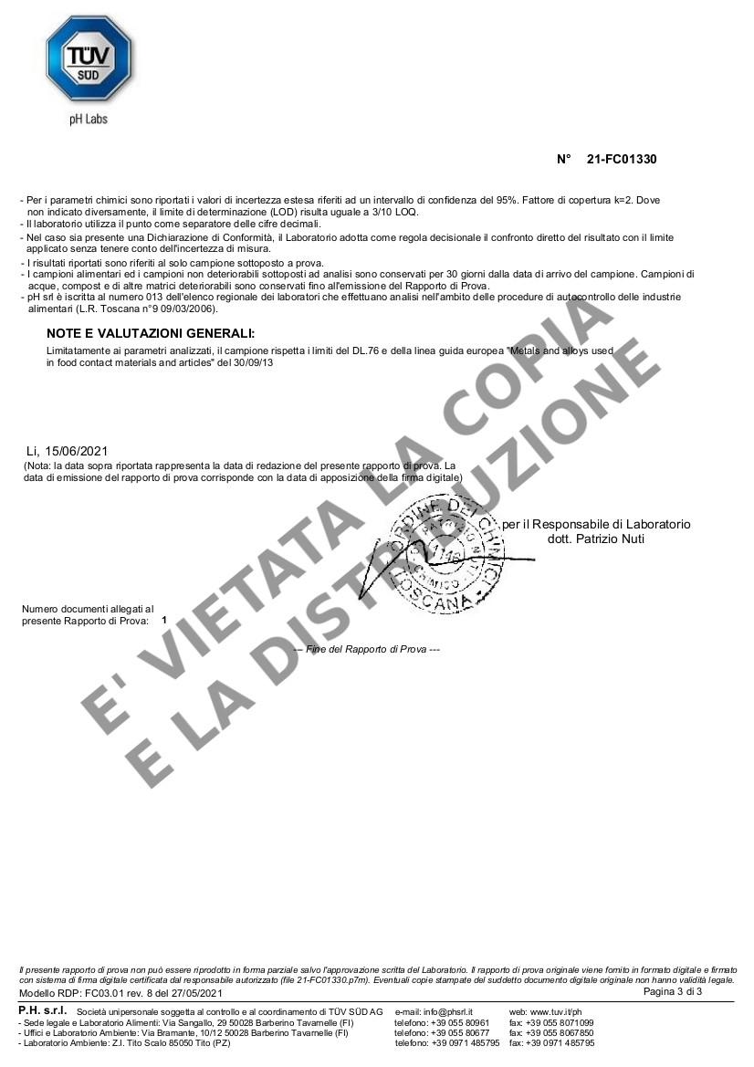 Fornetto ILLILLO Extreme Migrazione resistenza INCOLOY pag.3
